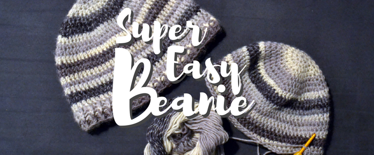 How to Crochet a Beanie – This Super Easy Pattern is perfect for Beginners