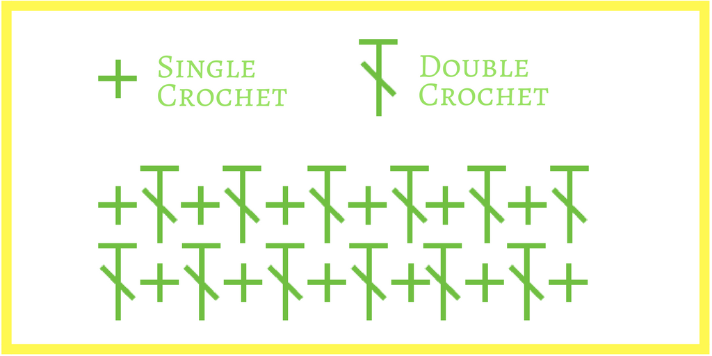 The Up and Down Crochet Stitch