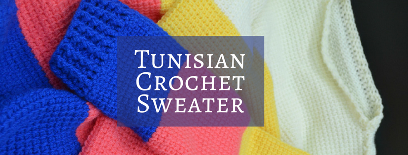 Tunisian Crochet Sweater